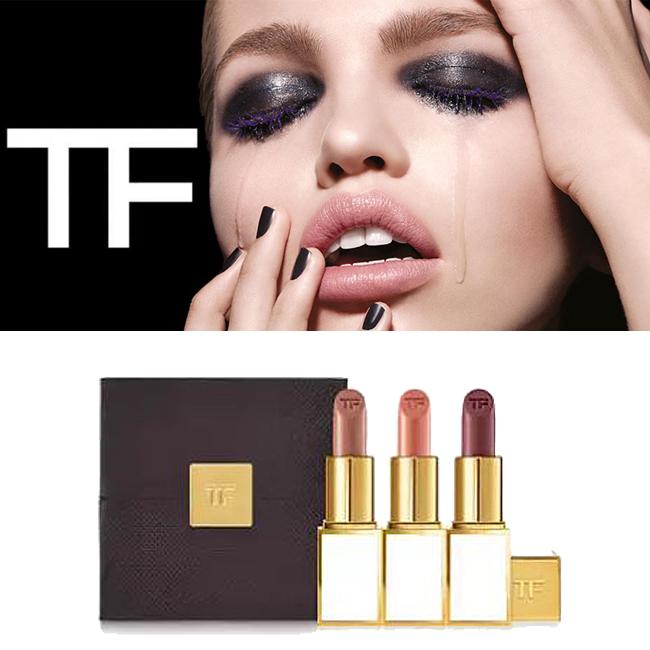 ◆新品◆完売カラー/TOM FORDトムフォード/口紅リップ3本セットBOX入り_画像1