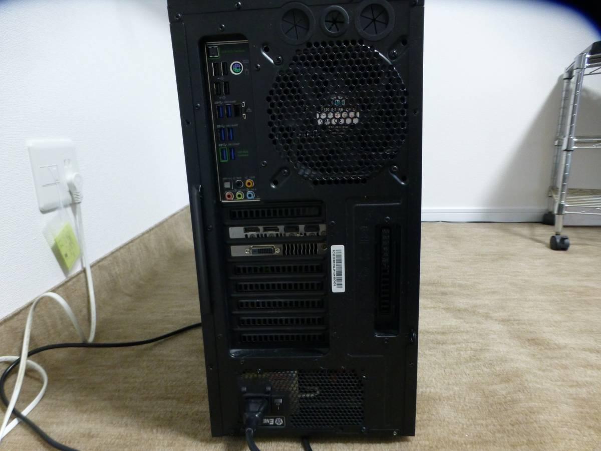 COOLERMASTER HAF-XM i7_5930K 16GB SSD2台 GTX1080Ti BDドライブ他 自作PC一式_画像3