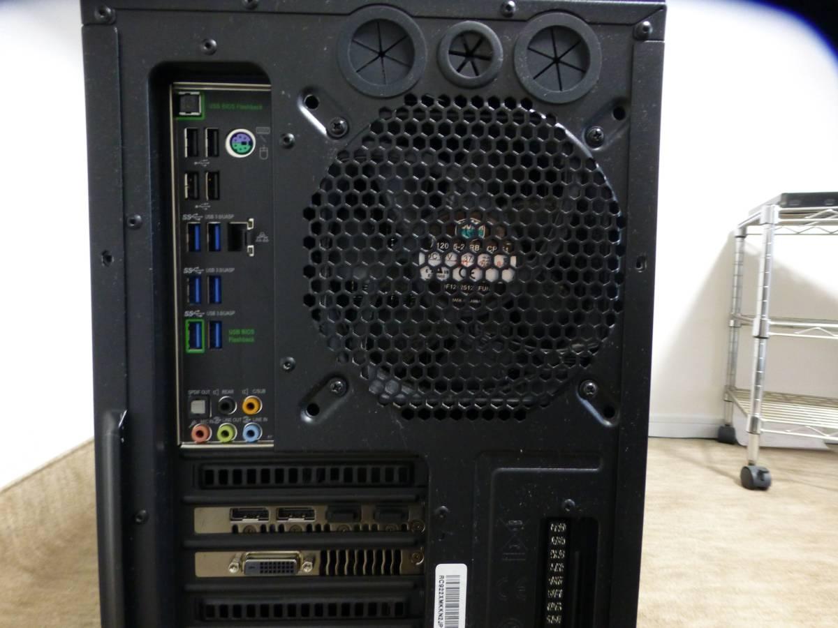 COOLERMASTER HAF-XM i7_5930K 16GB SSD2台 GTX1080Ti BDドライブ他 自作PC一式_画像4