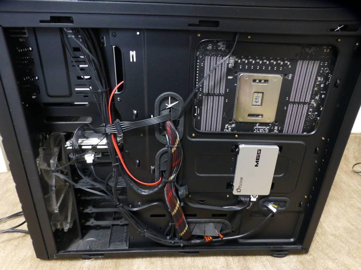 ケース内部反対側(SSD1配置)