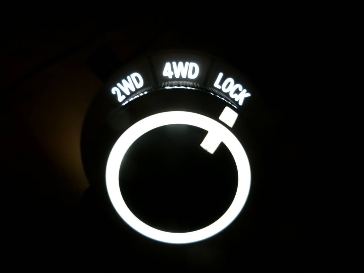 ■三菱 デリカD5 アウトランダー 4WDセレクタ スイッチ 高輝度&高演色LEDチップ4個仕様■