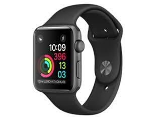 新品未使用未開封Apple(アップル) Apple Watch Series 2 スペースグレイアルミニウムケースとブラックスポーツバンド42mm MP0G2J/A送料無料