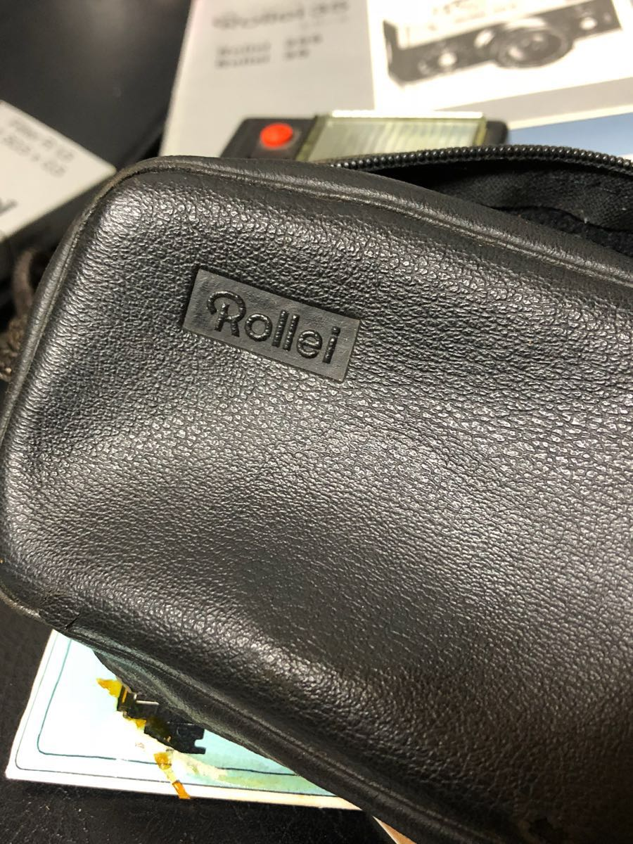 Rollie 35s&Rollei 100XLC カタログ 取説 ケース付き ローライ35S 動作確認無しの為ジャンク扱い ビンテージカメラ_画像8