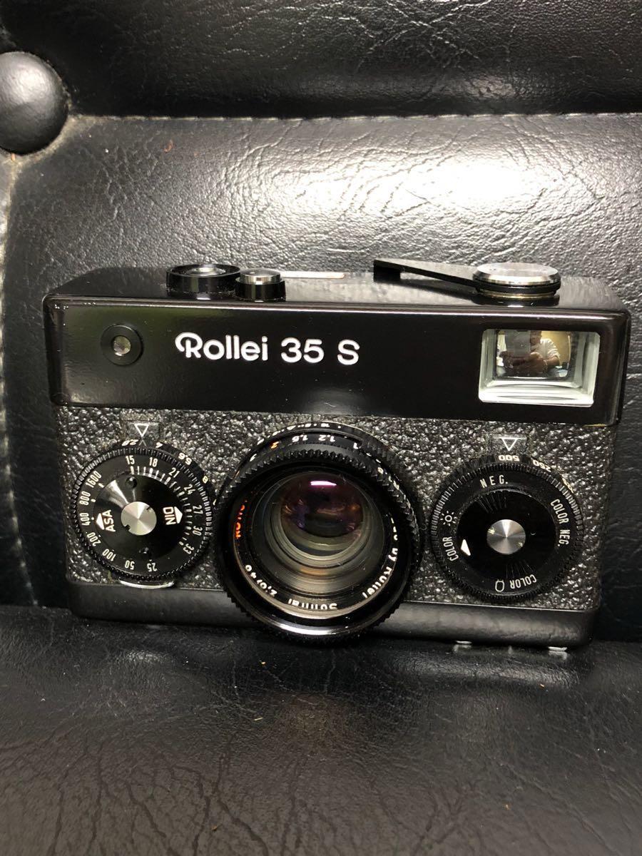 Rollie 35s&Rollei 100XLC カタログ 取説 ケース付き ローライ35S 動作確認無しの為ジャンク扱い ビンテージカメラ_画像2