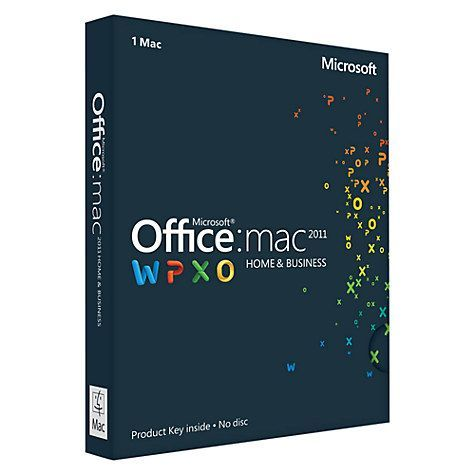Office for Mac Home and Business 2011 プロダクトキー DL版.