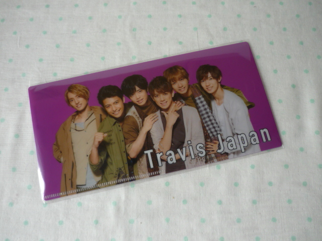 JOHNNYS' YOU & ME IsLAND ☆チケットファイル ☆Travis Japan