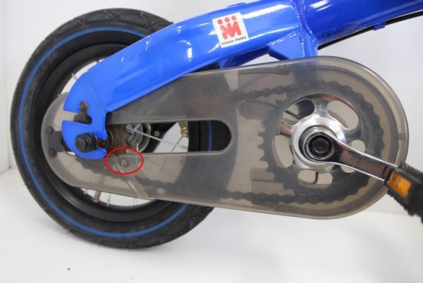 ♪♪へんしんバイク ペダルシステム付 タイヤ12.5インチ ブルー ♪♪_画像8