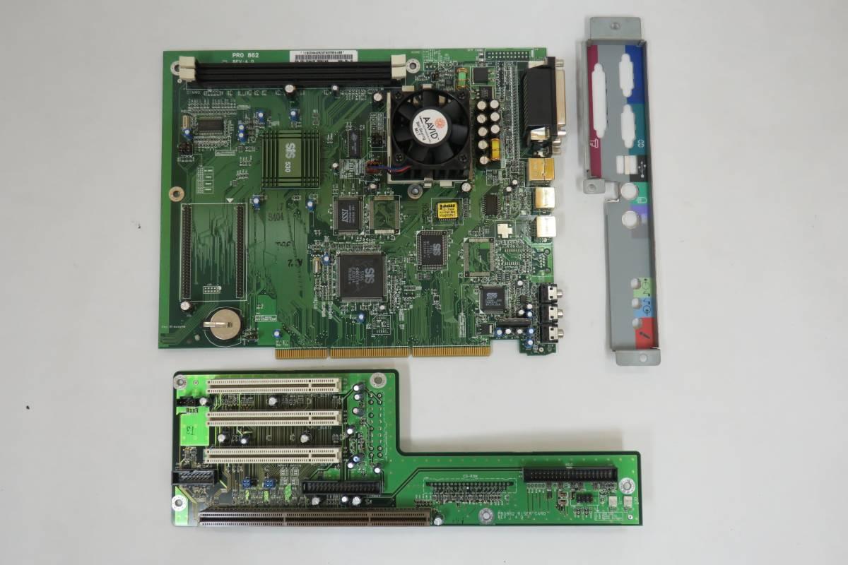 PRO862 Socket7 マザーボード RI...