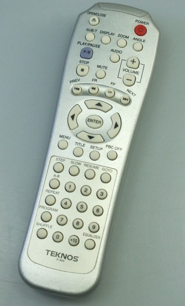 TEKNOS *DVD remote control *R-M33* operation OK
