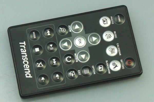 TRANSCEND remote control model unknown * operation OK**