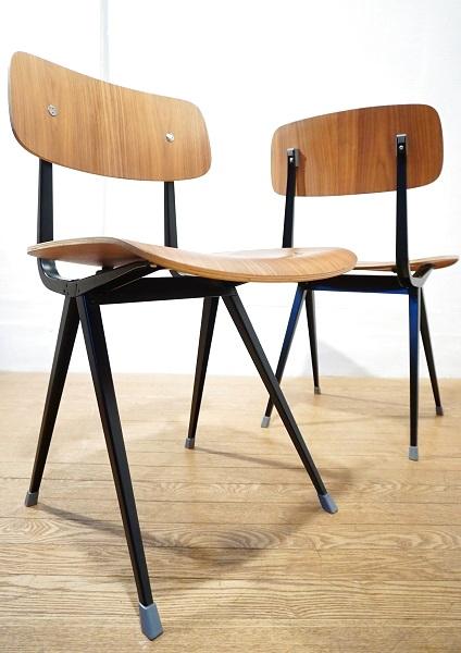 【送料無料】 インダストリアル 工業デザイン コンパスレッグ ダイニングチェア デスクチェア 書斎椅子 / 北欧 アクタス IDEE unico vitra