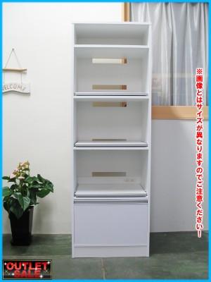 ◆新品:アウトレット◆キッチン家電ラック幅30 【L】 00636 _画像1