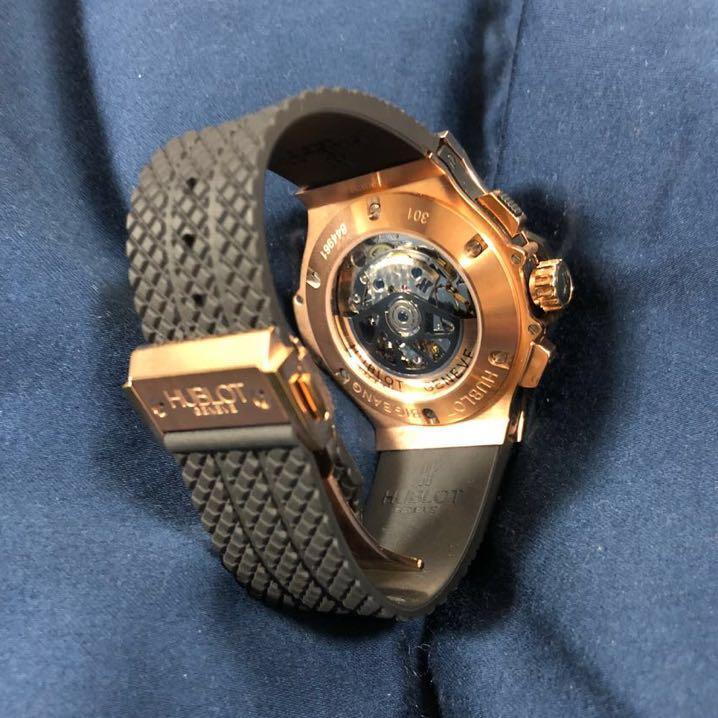 HUBLOT ウブロ メンズ 腕時計 美品 最落なし 売り切り_画像4