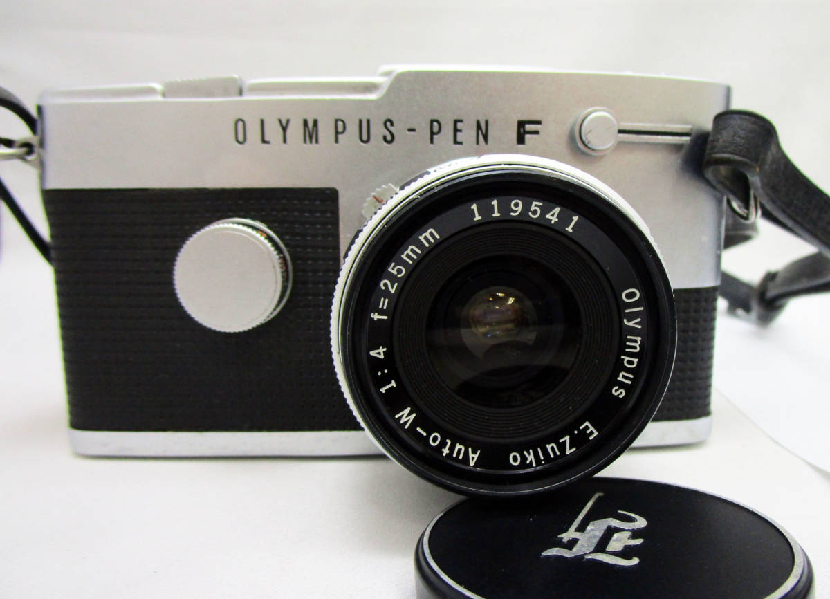 OLYMPUS/オリンパス PEN-FT レンズ E.Zuiko Auto-T 1:3.5 f=100mm Auto-W 1:4 f=25mm G.Zuiko Auto-T 1:1.5 f=60mm_画像2
