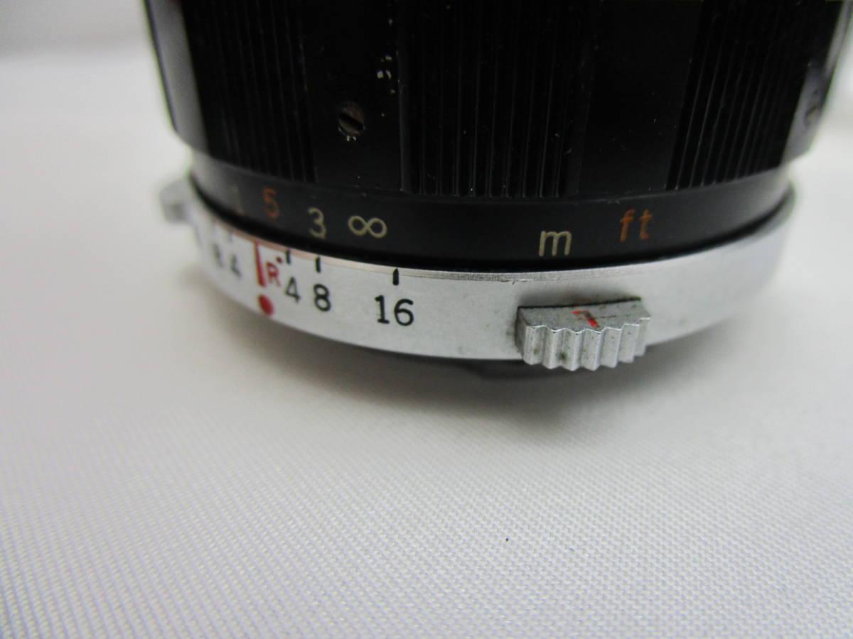 OLYMPUS/オリンパス PEN-FT レンズ E.Zuiko Auto-T 1:3.5 f=100mm Auto-W 1:4 f=25mm G.Zuiko Auto-T 1:1.5 f=60mm_画像7