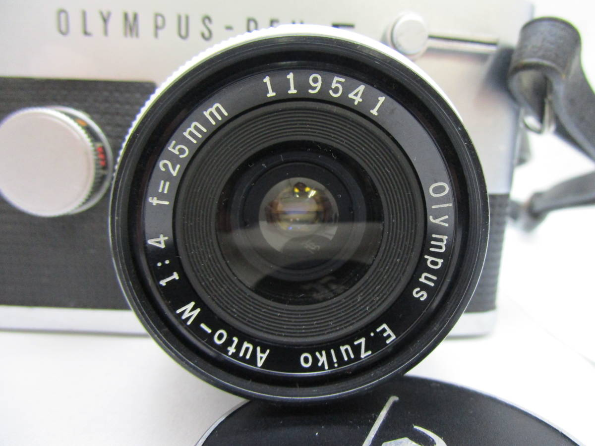 OLYMPUS/オリンパス PEN-FT レンズ E.Zuiko Auto-T 1:3.5 f=100mm Auto-W 1:4 f=25mm G.Zuiko Auto-T 1:1.5 f=60mm_画像4
