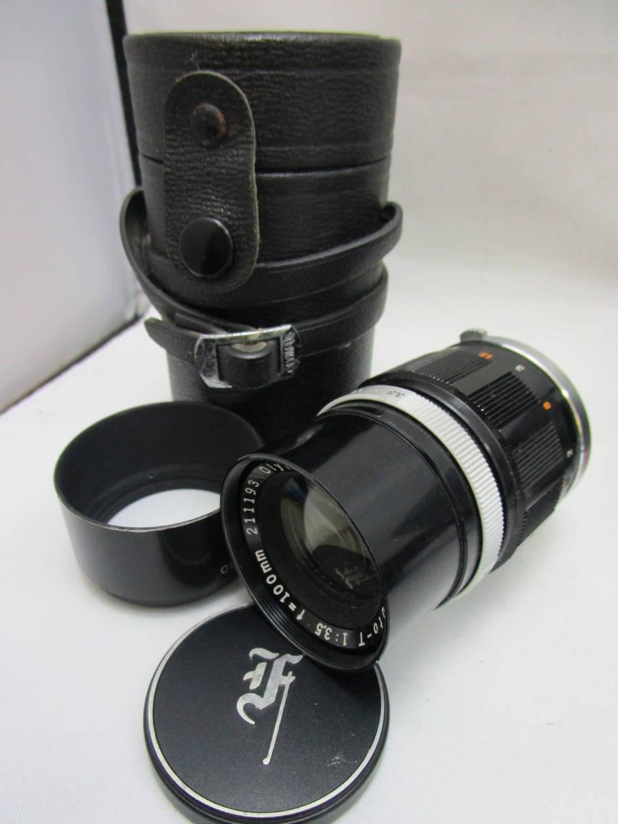 OLYMPUS/オリンパス PEN-FT レンズ E.Zuiko Auto-T 1:3.5 f=100mm Auto-W 1:4 f=25mm G.Zuiko Auto-T 1:1.5 f=60mm_画像9