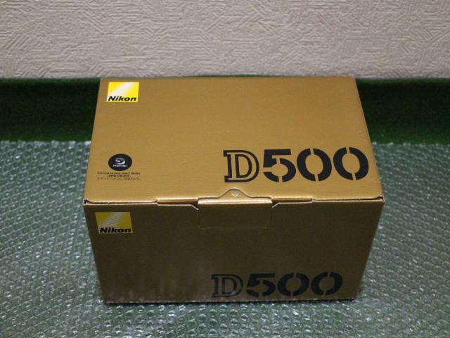 【新品】ニコン(Nikon) D500 ボディ デジタル一眼カメラ