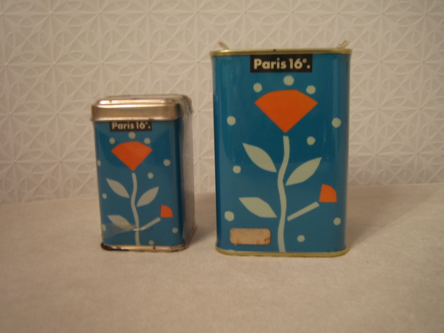 Paris 16 紅茶缶 空き缶 90年代のインテリア雑誌の常連