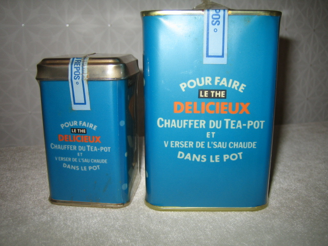 Paris 16 紅茶缶 空き缶 90年代のインテリア雑誌の常連_画像2