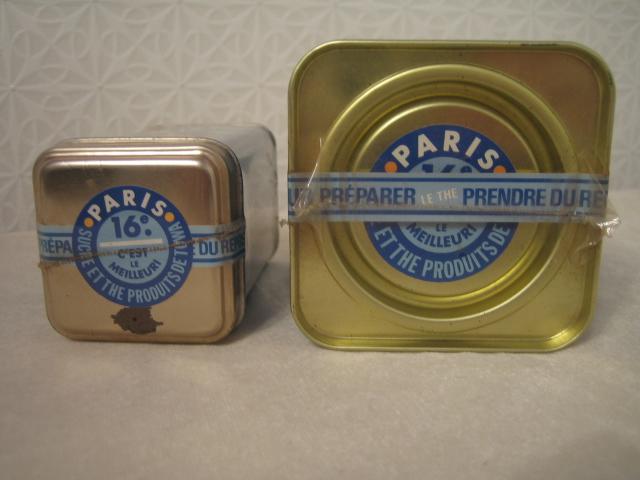 Paris 16 紅茶缶 空き缶 90年代のインテリア雑誌の常連_画像5