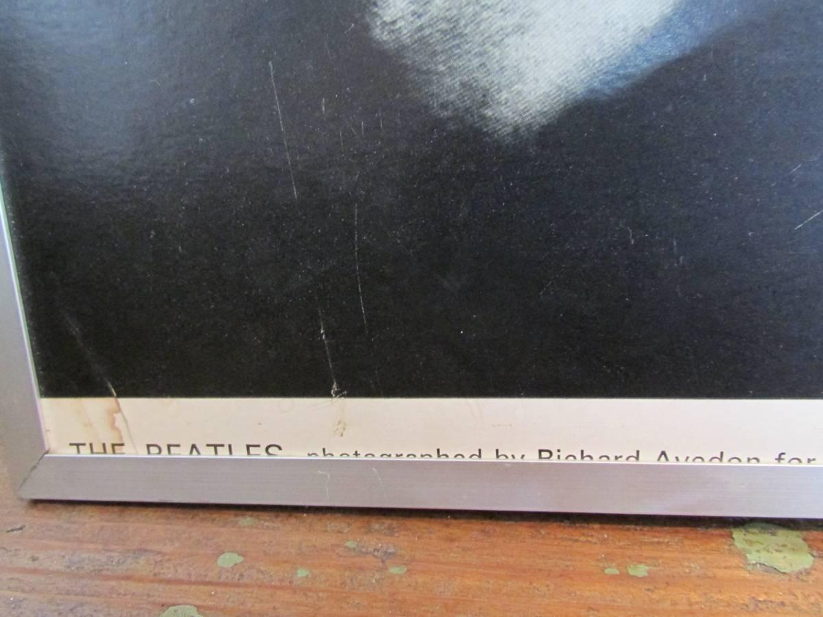 リチャード・アベドン撮影 《ビートルズ BEATLES 1967年オリジナル品・アートポスターフレーム額装 ポスター》Richard Avedon_画像2