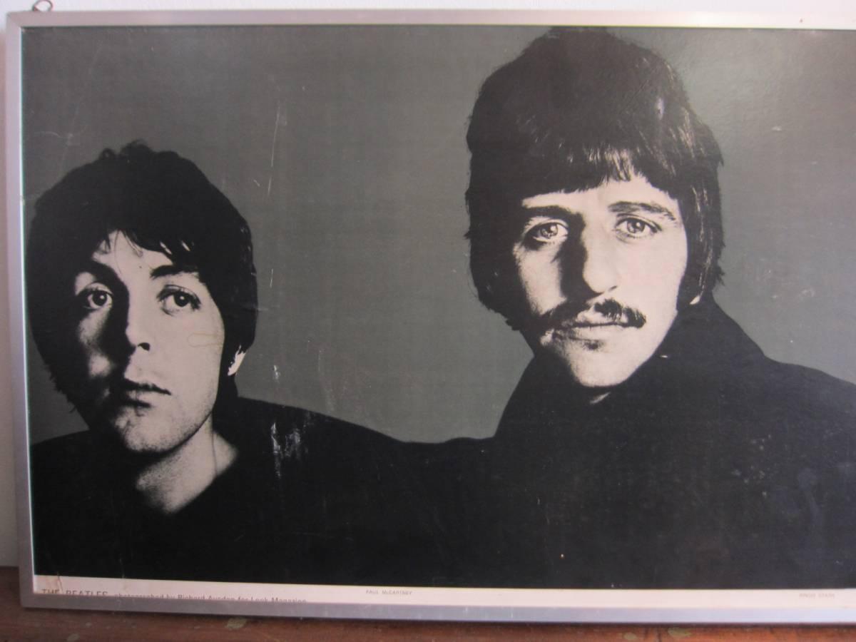 リチャード・アベドン撮影 《ビートルズ BEATLES 1967年オリジナル品・アートポスターフレーム額装 ポスター》Richard Avedon_画像9