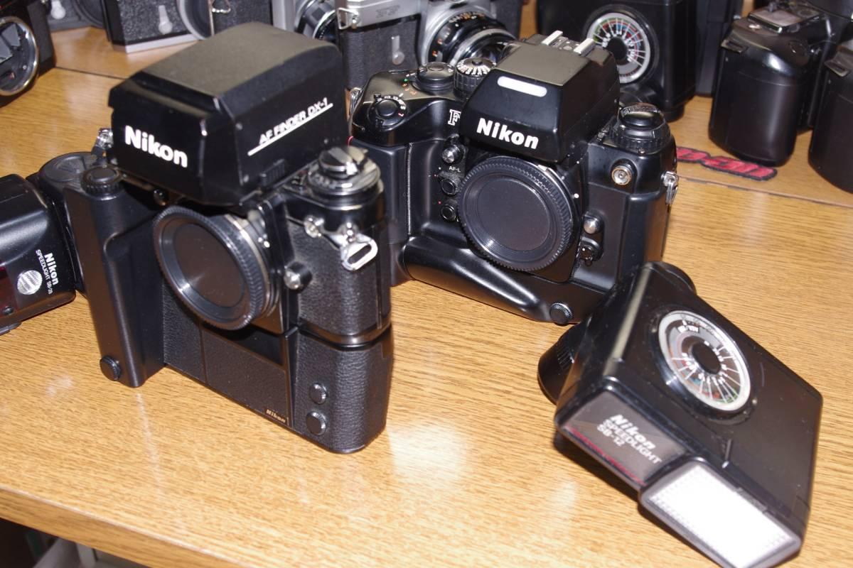 ジャンク/F3/F4/F3AFファインダーとストロボ/SB12/SB28_画像3