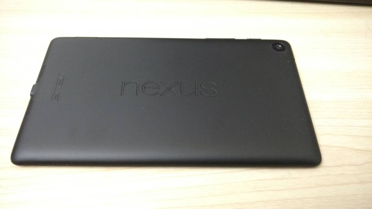 Nexus7 2013 SIMフリー(Wi-Fi+LTE通信対応 モデル) 32GB 中古カバー付き