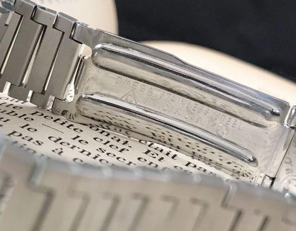 【☆仕上げ済み☆】オメガ シーマスター Cal.1020 ヴィンテージ アンティーク 自動巻き メンズ腕時計 極上品 黒_画像8