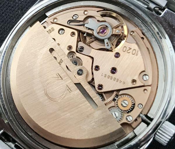 【☆仕上げ済み☆】オメガ シーマスター Cal.1020 ヴィンテージ アンティーク 自動巻き メンズ腕時計 極上品 黒_画像10
