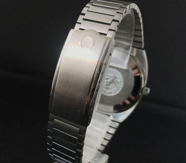 【☆仕上げ済み☆】オメガ シーマスター Cal.1020 ヴィンテージ アンティーク 自動巻き メンズ腕時計 極上品 黒_画像7