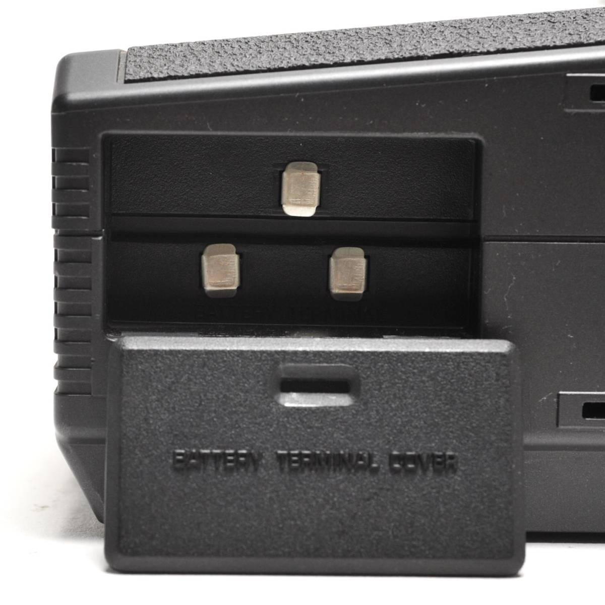 National 白黒テレビ TR-4010 ナショナル 2080年製 ACアダプター付き 通電確認済 78302209_画像7