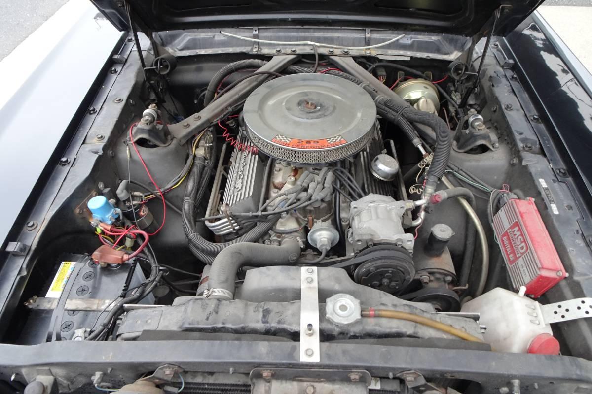 ☆希少☆ 実動 65年 マスタング MUSTANG ハードトップ V8 4.7リッター 289ci もったいないけど レースカー 部品取り車に 書類無し_画像2