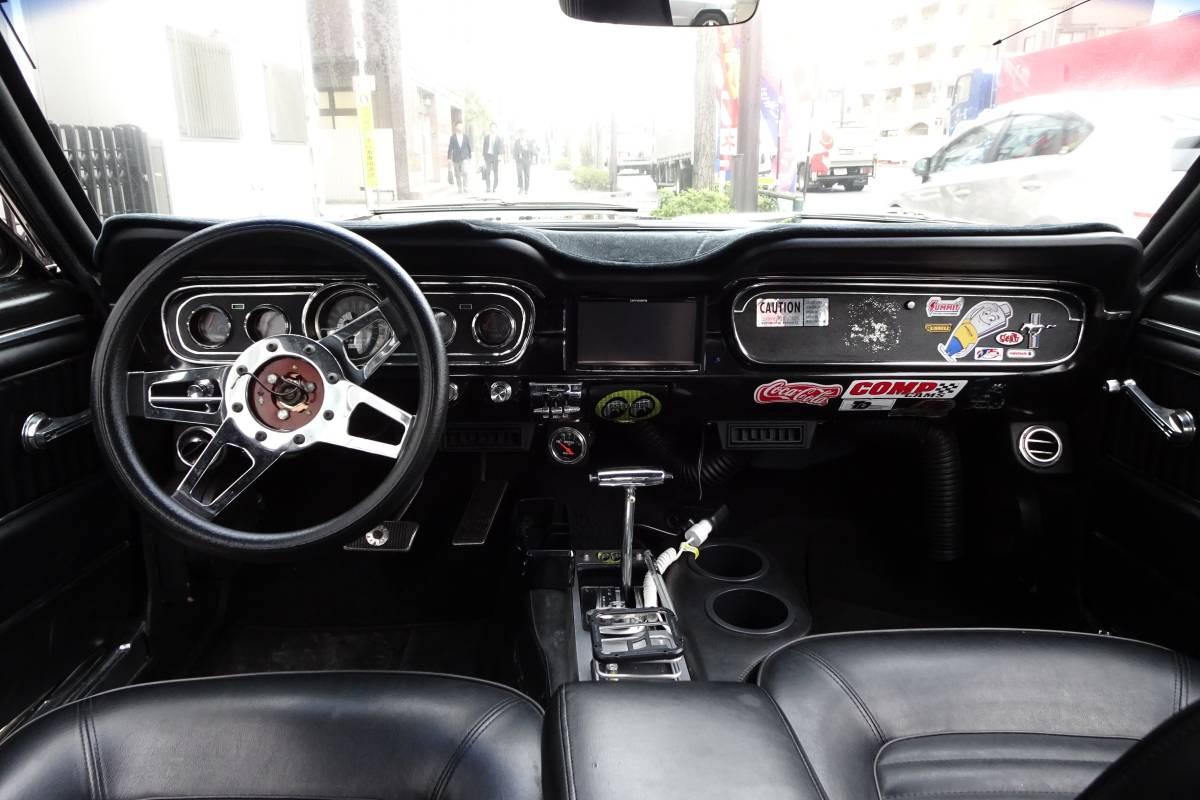 ☆希少☆ 実動 65年 マスタング MUSTANG ハードトップ V8 4.7リッター 289ci もったいないけど レースカー 部品取り車に 書類無し_画像5