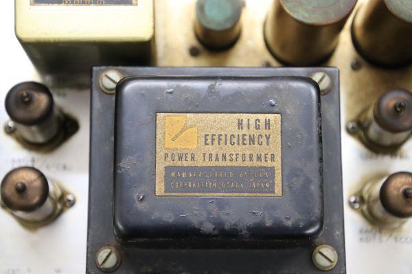 1円 LUXMAN KMQ60 ジャンク 部品取り ステレオパワーアンプ 通電確認 真空管点灯 最落なし レア ラックスマン_画像4