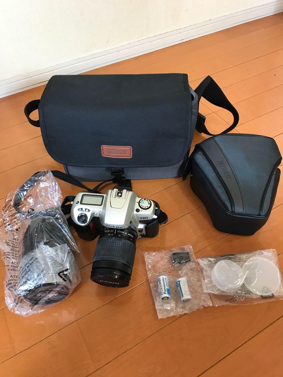 Nikon/F60/カメラケース/望遠等/セット/AF/MF/ほぼ新品