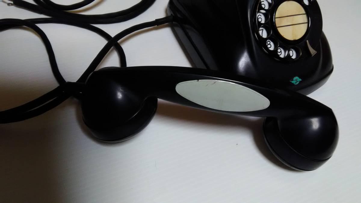 【昭和レトロ】沖電気 黒電話 4号A 自動式電話機 仕-96号  アンティーク インテリア【ジャンク】_画像5