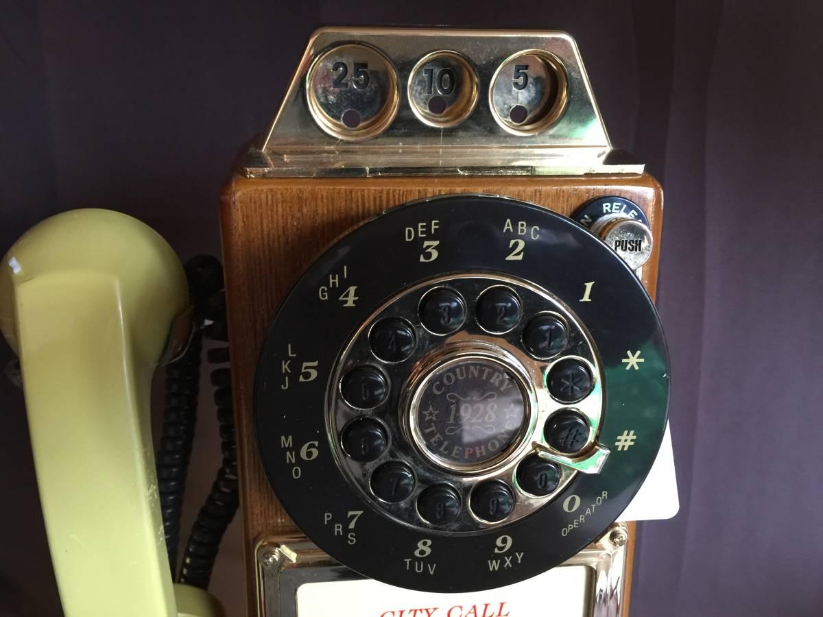 アンティーク電話機 1928年代モデル USA 新品_画像2
