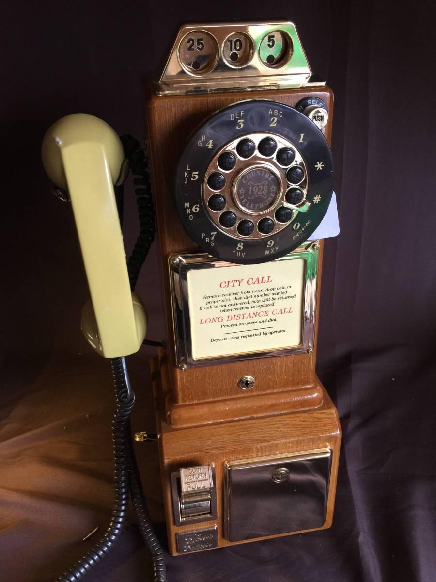 アンティーク電話機 1928年代モデル USA 新品