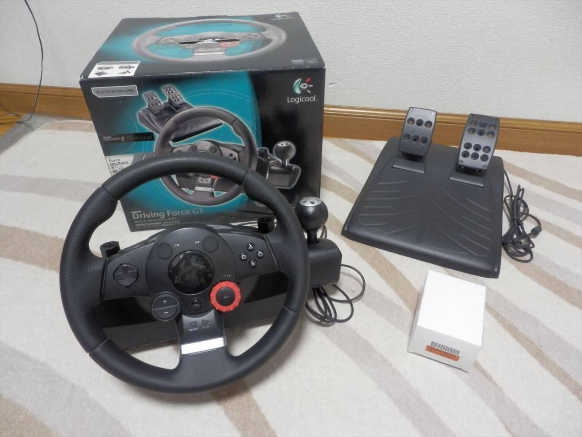 ロジクール ドライビングフォースGT Logicool Driving Force GT 【PS3】【PS4】LPRC14000 国内正規品 《ジャンク》