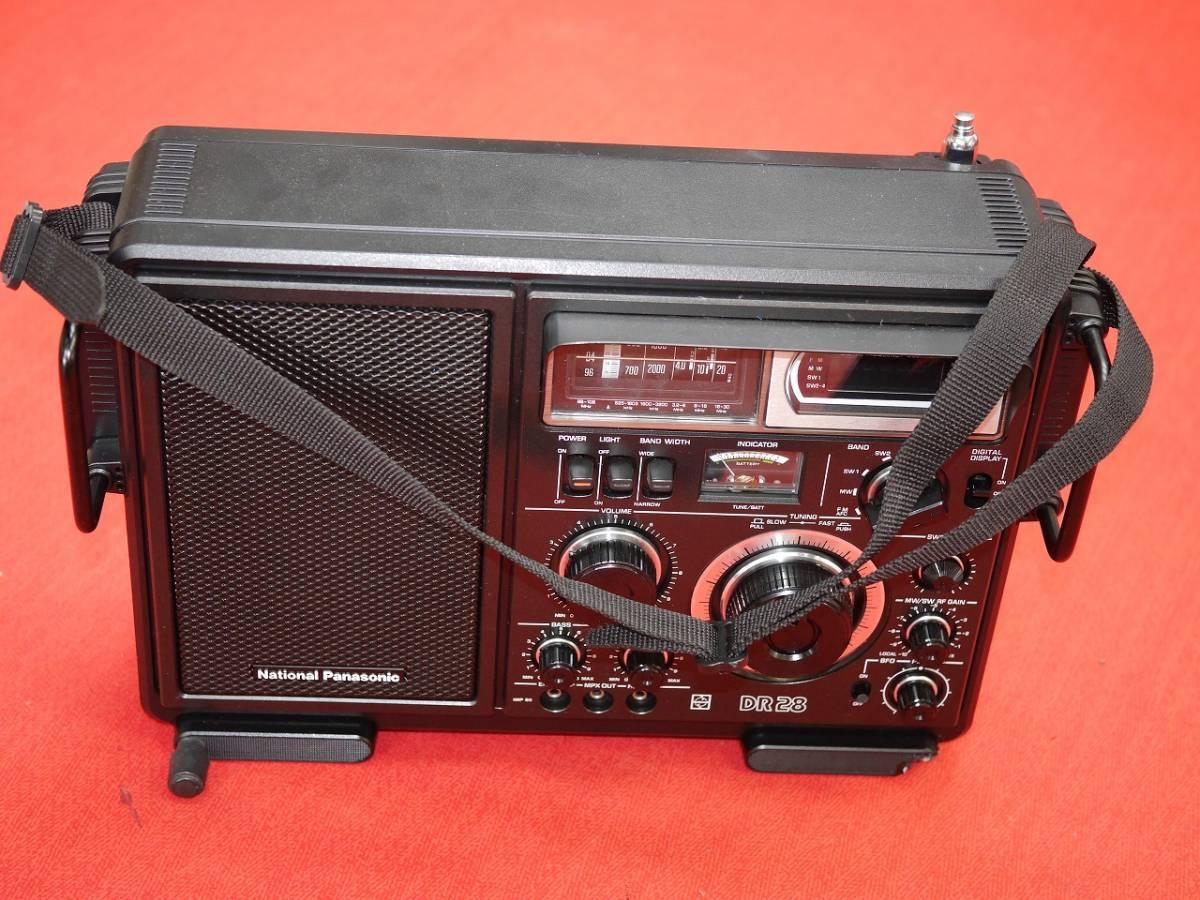 昭和レトロ National Panasonic RF-2800B 5バンドBCLラジオ英語版(English Edition)【動作済み美品】_画像3