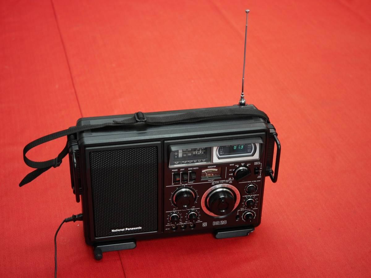 昭和レトロ National Panasonic RF-2800B 5バンドBCLラジオ英語版(English Edition)【動作済み美品】