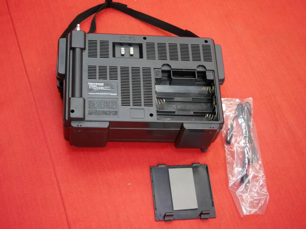 昭和レトロ National Panasonic RF-2800B 5バンドBCLラジオ英語版(English Edition)【動作済み美品】_画像8