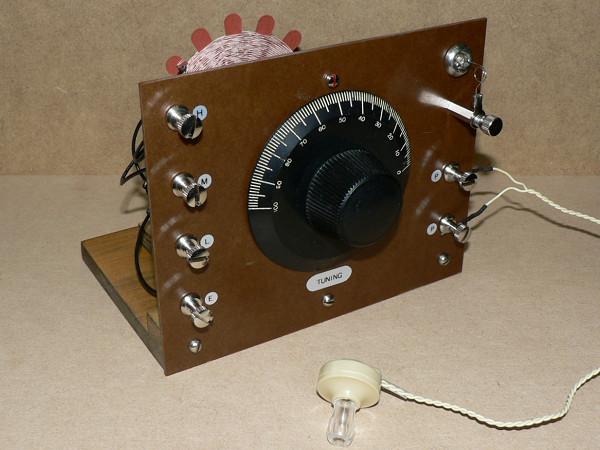 【自作】鉱石ラジオ