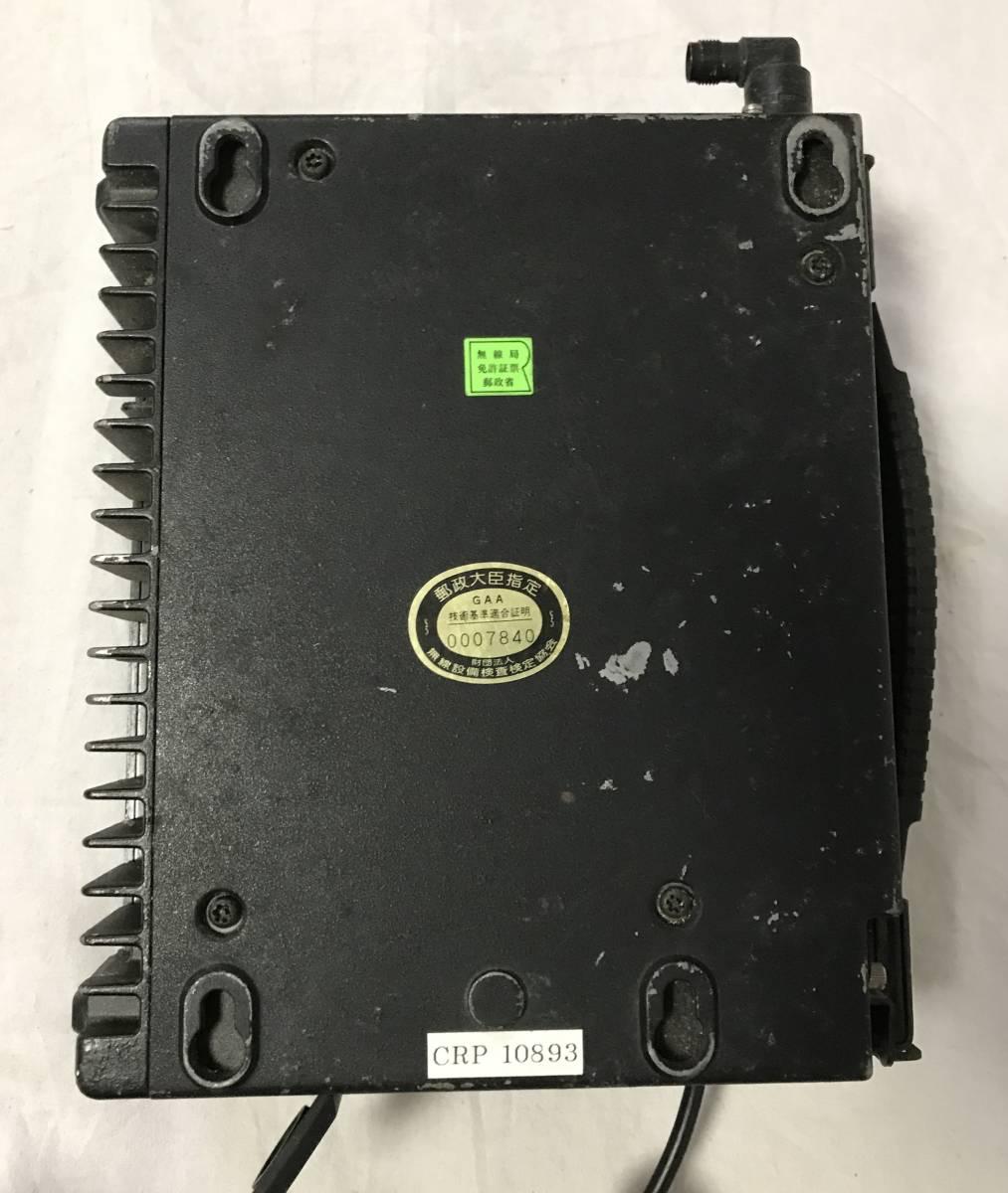 1991年製 EF-6256形簡易陸上移動無線電話移動機 カーテレフォン 車 携帯電話 初期 昭和レトロ_画像5