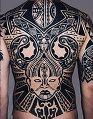 洋書 ブラック タトゥーアート:部族の近代表現/ Black Tattoo Art: Modern Expressions of the Tribal(輸入品)_画像4