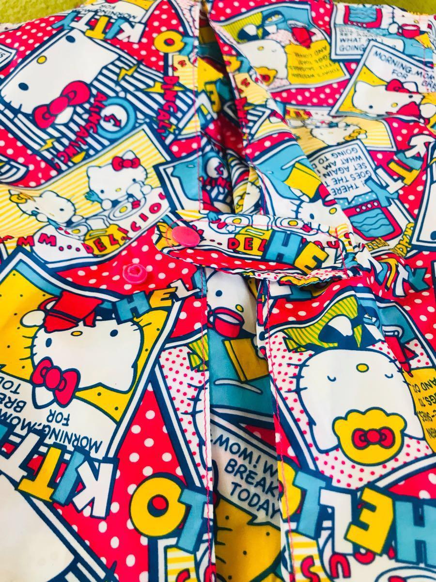 レインコート / 子供用 / 110cm / 女の子 / 1円~ / ブランド / HELLO KITTY / 入園準備_画像6