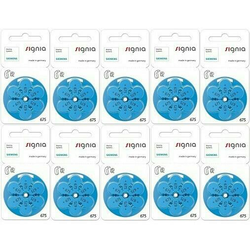 10パック/ヤマトDM便送料無料。追跡可能。★シーメンス・シグニア補聴器用空気電池★PR44(675)★有効期限20か月以上_画像1