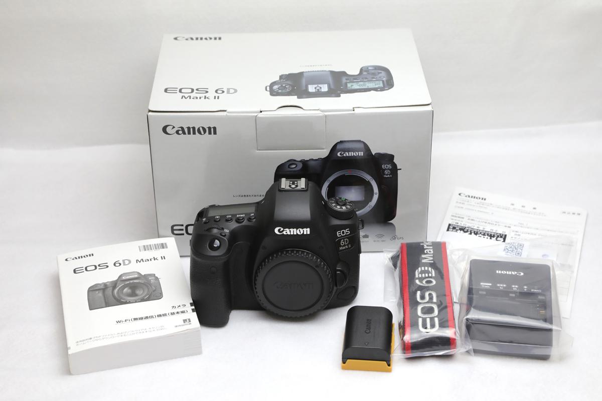 ★超美品★ Canon EOS 6D Mark 2 Ⅱ II ボディ 使用数回 2000ショット程度